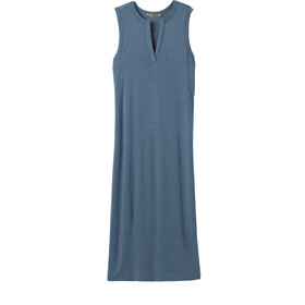 Prana Foundation Vestido Midi Mujer, nickel heather